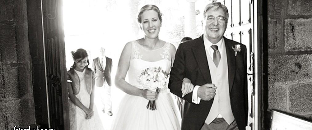 Música para la entrada de la novia - Cortesía de Paloma Baíllo fotoenbodas.com